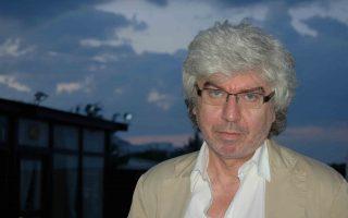 Ο συγγραφέας και αρθρογράφος Τάκης Θεοδωρόπουλος (Φωτογραφία: Ανθή Ξενάκη)
