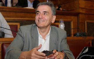 Ο υπουργός Οικονομικών Ευκλείδης Τσακαλώτος συμμετέχει σε συνεδρίαση επιτροπής της Βουλής ,  , Παρασκευή 20 Οκτωβρίου 2017. Η διαρκής επιτροπή οικονομικών υποθέσεων της Βουλής συνεδρίασε με θέμα ημερήσιας διάταξης: Επεξεργασία και εξέταση του σχεδίου νόμου του Υπουργείου Οικονομικών «Ρυθμίσεις για την αγορά παιγνίων».  ΑΠΕ-ΜΠΕ/ΑΠΕ-ΜΠΕ/Παντελής Σαίτας