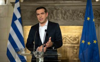Τα κριτήρια διανομής του κοινωνικού μερίσματος παρουσίασε στο τηλεοπτικό του διάγγλεμα το βράδυ της Δευτέρας ο πρωθυπουργός, Αλέξης Τσίπρας.