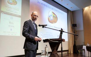 Ο κ. Σίμος Αναστασόπουλος Πρόεδρος του Ελληνο-Αμερικανικού Εμπορικού Επιμελητηρίου