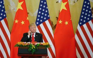Στην πρώτη επέτειο της εκλογής του, ο πρόεδρος Τραμπ δέχεται επικρίσεις και από Ρεπουμπλικανούς (εδώ, από την πρόσφατη επίσκεψή του στο Πεκίνο).