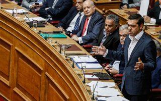 Ο κ. Τσίπρας επιχειρεί να συγκρατήσει δυνάμεις διαμορφώνοντας ένα σκηνικό ακραίας πόλωσης, όπως έπραξε και προχθές στη Βουλή.