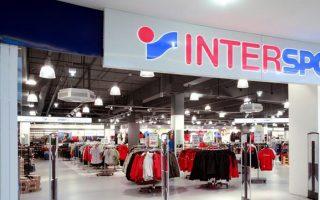 Το δίκτυο καταστημάτων «Intersport» αποτελείται από 50 καταστήματα στην Ελλάδα, 29 στη Ρουμανία, 24 στην Τουρκία, 7 στη Βουλγαρία και 4 στην Κύπρο.