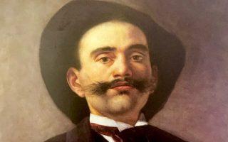 Αυτοπροσωπογραφία του ζωγράφου Εμμανουήλ Λαμπάκη.