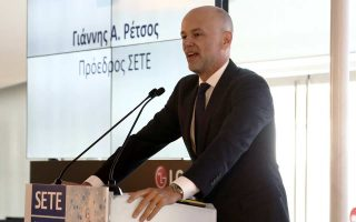 Ο πρόεδρος του Συνδέσμου Ελληνικών Τουριστικών Επιχειρήσεων Γιάννης Ρέτσος.