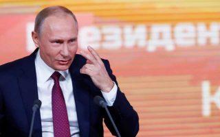 O Ρώσος πρόεδρος συνδέει τις επικείμενες εκλογές με το ξέσπασμα του σκανδάλου ντόπινγκ.