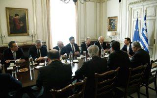Κατά τη χθεσινή συνάντηση του κ. Τσίπρα με τους τραπεζίτες, αίσθηση προκάλεσε η πρόταση του πρωθυπουργού για τη συγκρότηση παρατηρητηρίου, το οποίο να αποφασίζει σε ποιες υποθέσεις θα δίνεται προτεραιότητα.