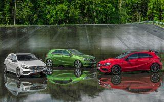 Με τη νέα προωθητική ενέργεια μπορεί κανείς να αποκτήσει την καινούργια Mercedes-Benz A-Class με ελάχιστο όφελος 2.500 ευρώ.
