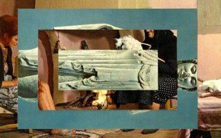 Εργο του Γιάννη Καρλόπουλου από την έκθεση «Δύο σε ένα», με έργα και της Ιριδος Πλαϊτάκη.