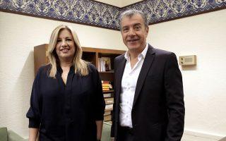 Κατά τη συνάντησή τους, την Τρίτη, η κ. Γεννηματά και ο κ. Θεοδωράκης ανακοίνωσαν το όνομα του νέου φορέα.