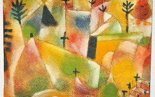 Φωτογραφία: ΒΕΡΝΗ: Paul Klee, 1922 και Paul Klee, 1920.