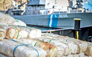 Η αξία των ναρκωτικών που κατασχέθηκαν υπολογίζεται στα 70 εκατομμύρια ευρώ.