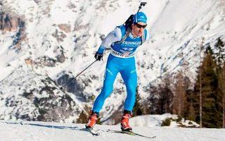 Ο Απόστολος Αγγέλης είχε καλή επίδοση στο σκι στην Ελβετία, αλλά οι τρεις άστοχες βολές τού στοίχισαν σε θέσεις.