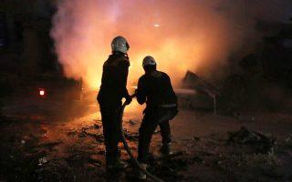 Τουλάχιστον 34 άτομα έχασαν τη ζωή τους στην επίθεση εναντίον της έδρας Τσετσένων τζιχαντιστών την Κυριακή στο Ιντλίμπ.