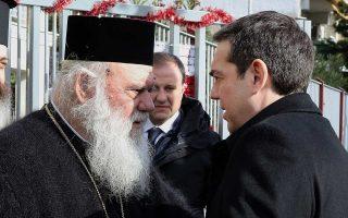 Ο πρωθυπουργός στην επιστολή του προς τον Αρχιεπίσκοπο βεβαιώνει ότι «θα αντιμετωπίσουμε τις σκέψεις που διατυπώνετε στην επιστολή σας με τη δέουσα προσοχή».