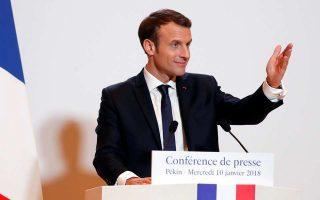 Ο Γάλλος πρόεδρος Εμ. Μακρόν ανέφερε ότι «είναι πολύ νωρίς για οριστικά συμπεράσματα», τόνισε όμως ότι οι όροι της συμφωνίας είναι «καλύτεροι για το ευρωπαϊκό εγχείρημα» σε σχέση με όσα είχαν συμφωνηθεί στην προηγούμενη απόπειρα οικοδόμησης κυβερνητικού συνασπισμού στη Γερμανία.