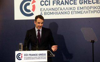 Ο Κυρ. Μητσοτάκης επισήμανε χθες ότι η ομαλή ολοκλήρωση του προγράμματος δεν εγγυάται την έξοδο από την κρίση αν η χώρα επιστρέψει στις κακές συνήθειες του παρελθόντος.