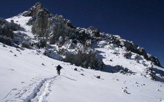 Το Ακονκάγκουα, στην οροσειρά των Ανδεων, είναι το ψηλότερο βουνό της Αμερικής. Η ελληνική αποστολή θα διαρκούσε 22 ημέρες.