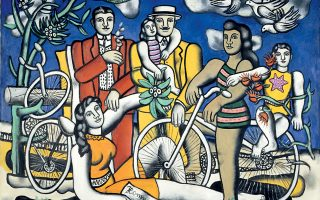 Φωτογραφία: ΒΡΥΞΕΛΛΕΣ: 1. Les Loisirs 1948-1949 © Centre Pompidou, MNAM-CCI/Jean-FranCois Tomasian/Dist. RMN-GP © SABAM Belgium 2018, 2. Le mécanicien, 1918