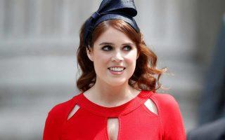 Η πριγκίπισσα Ευγενία του Γιορκ είναι όγδοη στη σειρά διαδοχής για τον βρετανικό θρόνο.