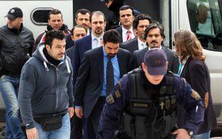 Ο Σταύρος Κοντονής δήλωσε, μετά τη συνάντηση με τουρκική αντιπροσωπεία, ότι «θέμα έκδοσης των οκτώ δεν μπορεί να υπάρξει».