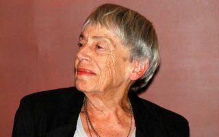 Ο θάνατός της, προχθές, στα 88 της, έκλεισε έναν τεράστιο κύκλο πολυδιάστατης δημιουργικότητας.