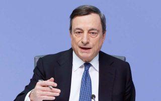Το επίπεδο «των μη εξυπηρετούμενων ανοιγμάτων είναι ένα από τα υψηλότερα σε όλες τις χώρες της τραπεζικής ένωσης», τονίζει ο επικεφαλής της ΕΚΤ, Μάριο Ντράγκι.