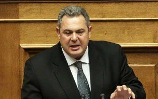 Ο κ. Τσίπρας ενημέρωσε χθες το πρωί κατ' ιδίαν τον επικεφαλής των ΑΝΕΛ και κυβερνητικό εταίρο του Πάνο Καμμένο.