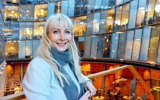 Η Λόρα Χουχτασάαρι είναι υποψήφια για την προεδρία της Φινλανδίας.