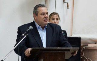 Τις εγκαταστάσεις του Ναυστάθμου Σαλαμίνας επισκέφθηκε χθες ο υπουργός Εθνικής Αμυνας Π. Καμμένος.