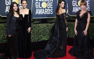 Η εγκυμονούσα America Ferrera με τουαλέτα Christian Siriano και η Natalie Portman με Dior Haute Couture, η Penelope Cruz με τουαλέτα Ralph and Russo και η Lily James με ονειρικό φόρεμα Valentino.