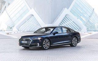 Το Audi A8 βραβεύτηκε ως το καλύτερο sedan παραγωγής.