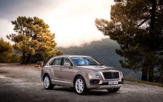 Η Bentayga Diesel είναι το πρώτο πετρελαιοκίνητο μοντέλο της Bentley.