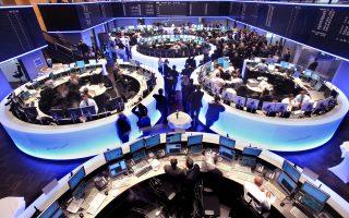 Στη Φρανκφούρτη, ο δείκτης Dax ενισχύθηκε κατά 0,83%, ο γαλλικός δείκτης Cac-40 κατά 0,81% και ο βρετανικός δείκτης FTSE-100 κατά 0,3%.
