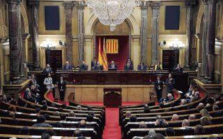 O νέος πρόεδρος της καταλανικής Βουλής, Ρότζερ Τορέντ, ανοίγει μια πολύ ιδιαίτερη κοινοβουλευτική περίοδο.