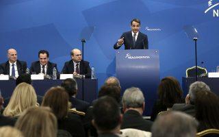 Από το βήμα της πολιτικής επιτροπής της Ν.Δ., ο Κυριάκος Μητσοτάκης τόνισε ότι το θέμα «κλείνει εδώ», με στόχο τόσο να λήξει οποιαδήποτε συζήτηση στο εσωτερικό του κόμματός του όσο και να στείλει μήνυμα στον πρωθυπουργό ότι πρέπει να επωμισθεί ο ίδιος τους κινδύνους της διαπραγμάτευσης.