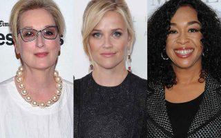 Meryl Streep, Reese Witherspoon και Shonda Rhimes ανάμεσα στα μέλη της ομάδας ''Time's Up''.