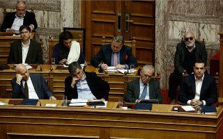 Σε κλίμα ανησυχίας αναμένεται να ψηφιστεί αύριο το πολυνομοσχέδιο με το οποίο θα κλείσουν τα προαπαιτούμενα για την τρίτη αξιολόγηση.