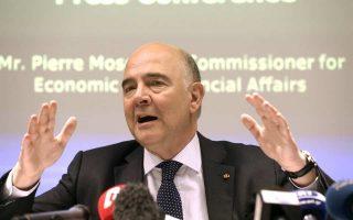 O επίτροπος Πιερ Μοσκοβισί θα έχει επαφές με στελέχη της κυβέρνησης την επόμενη εβδομάδα στην Αθήνα.
