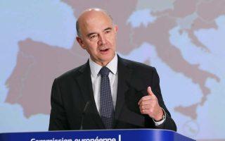 «Η Ελλάδα μετά το τέλος του προγράμματος θα μπορούσε να γίνει σταδιακά μια κανονική χώρα», δήλωσε ο αρμόδιος επίτροπος Πιερ Μοσκοβισί.
