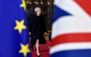 Η κ. Μέι θέλει να δώσει ηχηρή απάντηση σε όσους την κατηγορούν για υποχωρητικότητα στις διαβουλεύσεις της κυβέρνησής της με την Ε.Ε.