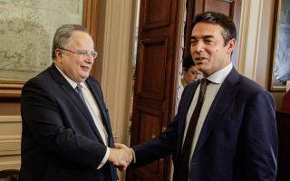 Oι κ. Κοτζιάς και Ντιμιτρόφ θα συναντηθούν εκτός απροόπτου στο περιθώριο του άτυπου συμβουλίου των ΥΠΕΞ της Ε.Ε., το ερχόμενο διήμερο στη Σόφια.