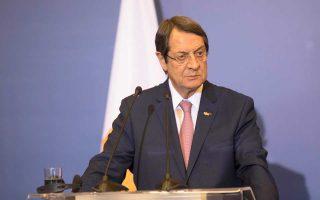 Τη δυσαρέσκειά του για την τουρκική προκλητικότητα εξέφρασε ο κ. Νίκος Αναστασιάδης και ζήτησε ψυχραιμία.