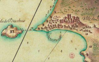 «Aρχιπέλαγος 1685-1687 στους χάρτες του Λουδοβίκου ΙΔ΄» στο Τελλόγλειο.
