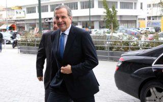 """«Ο κ. Τσίπρας δεν θα επιβάλει καθεστώς """"Μαδούρο"""" στην Ελλάδα!», επισήμανε ο πρώην πρωθυπουργός Αντ. Σαμαράς."""