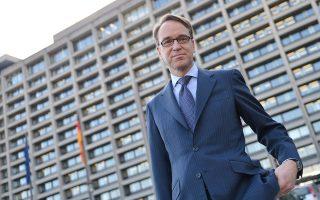 Οι αποδόσεις των κρατικών ομολόγων της Ευρωζώνης κινήθηκαν ανοδικά χθες, διότι οι πιθανότητες να διοριστεί ο κ. Βάιντμαν πρόεδρος της ΕΚΤ προμηνύουν την άσκηση μιας πιο αυστηρής νομισματικής πολιτικής.