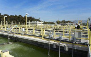O βιολογικός καθαρισμός του Θριασίου ετέθη σε λειτουργία το 2012.