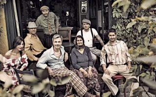 Οι Gadjo Dilo εμφανίζονται στο Gazarte.