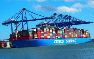 Είναι ένα από τα μεγαλύτερα πλοία μεταφοράς εμπορευματοκιβωτίων στον κόσμο και το μεγαλύτερο που ελλιμενίστηκε ποτέ στον Πειραιά. Το μήκους 400 μ. «Cosco Shipping Taurus», που μεταφέρει 20.000 κο-ντέινερ, κάνει το παρθενικό του ταξίδι από την Κίνα με τελικό προορισμό το Ρότερνταμ και ενδιάμεση στάση τον Πειραιά. Χθες έδεσε στον προβλήτα ΙΙΙ. Οταν ολοκληρωθούν τα έργα αναβάθμισης, ο Πειραιάς θα είναι το μόνο λιμάνι στη Μεσόγειο που θα μπορεί να εξυπηρετεί πέντε τέτοια πλοία ταυτόχρονα.
