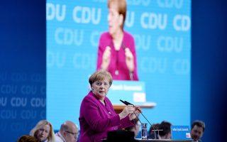 Οι παραινέσεις της Αγκελα Μέρκελ για ανανέωση της Ε.Ε. δεν φάνηκε να συγκίνησαν τους συνέδρους.